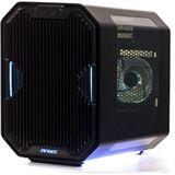 Antec Cube - Certified by EKWB mit Sichtfenster Mini-ITX ohne Netzteil schwarz