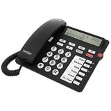tiptel Ergophone 1300, Großtastentelefon, schwarz