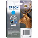 Epson Singlepack T1302 Durabrite Cyan