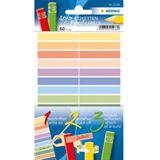 Herma Stift-Etiketten HOME, 40 x 46 mm, farbig sortiert