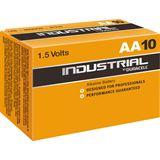 Duracell Industrial LR6 Alkaline AA Mignon Batterie 1.5 V 10er Pack