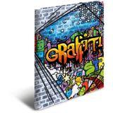 "HERMA Eckspannermappe ""Graffiti"", aus PP, DIN A3"