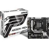 ASRock AB350M Pro4 AMD B350 So.AM4 Dual Channel DDR4 mATX Retail