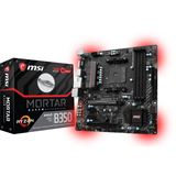 MSI B350M MORTAR AMD B350 So.AM4 Dual Channel DDR4 mATX Retail