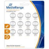MediaRange CR2016/CR2025/CR2032/CR2450 Lithium Knopfzellen Batterie