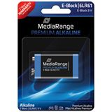 MediaRange Premium 6LR61 Alkaline E Block Batterie 9.0 V 1er Pack