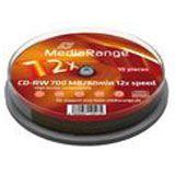 MediaRange CDRW80 700MB 12x (10) CB