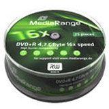MediaRange DVD+R 4.7GB 16x (25) CB