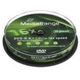MediaRange DVD-R 4.7GB 16x (10) CB