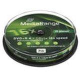 MediaRange DVD+R 4.7GB 16x (10) CB