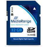 32 GB MediaRange SDHC Class 10 Retail