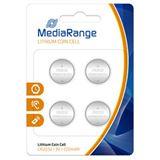 MediaRange CR2032 Lithium Knopfzellen Batterie 3.0 V 4er Pack