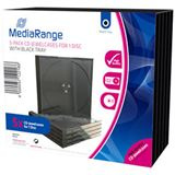 MediaRange CD Leerbox 5pcs Single JewelCase