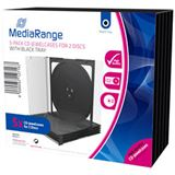 MediaRange CD Leerbox 5pcs Double JewelCase