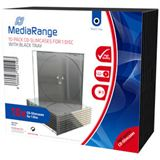 MediaRange CD Leerbox 10pcs Single SlimCase