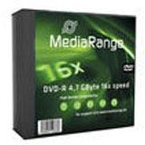MediaRange DVD-R 4.7GB 5pcs Pack 16x SlimCase