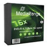 MediaRange DVD+R 4.7GB 5pcs Pack 16x Slimcase