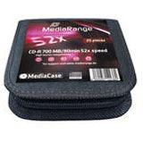 MediaRange CD-R 700MB 25pcs MediaCase 52x