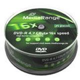 MediaRange DVD-R 4.7GB 25pcs Spindel 16x