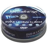 MediaRange DVD-R mini 10pcs Spindel