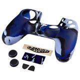 Hama 7in1-Zubehör-Paket Blue Camo für Dualshock 4