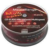 MediaRange CD-R 900MB 48x SP(25) CD-R, Kapazität: 900MB