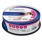 MediaRange CD-R 700MB 52x IW SP(25) CD-R, Kapazität: 700MB (MR224)