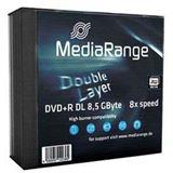 MediaRange DVD+R DL 8,5GB 8x SL(5) DVD DL, Kapazität: 8,5GB