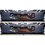 16GB G.Skill Flare X für AMD schwarz DDR4-2400 DIMM CL16 Dual Kit