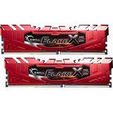 16GB G.Skill Flare X für AMD rot DDR4-2400 DIMM CL15 Dual Kit