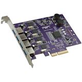 Sonnet Allegro Pro USB 3.0 PCIe Card (4 controllers/4 ports)
