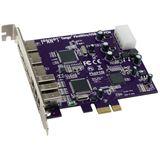 Sonnet Tango FireWire/USB PCIe Card (3 FireWire+3 USB port)