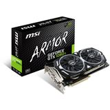 11GB MSI GeForce GTX 1080 Ti ARMOR 11G OC Aktiv PCIe 3.0 x16 (Retail)