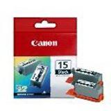 Canon Tinte BCI-15BK 2er-Pack 8190A002 schwarz