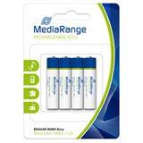 MediaRange HR03 Nickel-Metall-Hydrid AAA Micro Akku 800 mAh 4er Pack