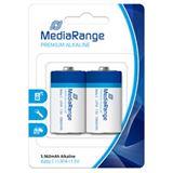 MediaRange Premium LR14 Alkaline C Baby Batterie 1.5 V 2er Pack