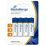 MediaRange FR6 Lithium AA Mignon Batterie 1.5 V 4er Pack