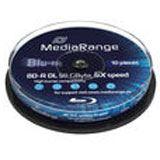Mediarange BD-R DL 50GB 6x (10 Stück) CakeBox