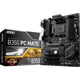 MSI B350 PC MATE AMD B350 So.AM4 Dual Channel DDR4 ATX Retail
