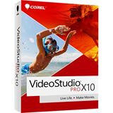 Corel Video Studio Pro X10 32 Bit Multilingual Videosoftware Vollversion 1 User PC (DVD)