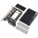 Aqua Computer kryoM.2 evo PCIe 3.0 x4 Adapter für M.2 NGFF PCIe