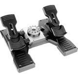 Logitech G Saitek Pro Flight Rudder Pedals USB schwarz/silber PC