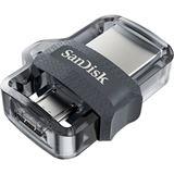 32 GB SanDisk Ultra Dual Drive M3.0 grau USB 3.0 und microUSB