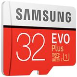 32 GB Samsung EVO Plus microSDHC Class 10 UHS-I Retail inkl. Adapter