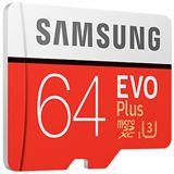 64 GB Samsung EVO Plus microSDXC Class 10 U3 Retail inkl. Adapter auf