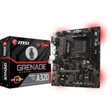 MSI A320M GRENADE AMD A320 So.AM4 Dual Channel DDR4 mATX Retail