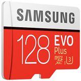 128 GB Samsung EVO Plus microSD Class 10 UHS-I U3 Retail inkl.