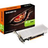 2GB Gigabyte GeForce GT 1030 Silent Low Profile 2G Passiv PCIe 3.0