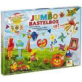 Folia Bastelpapier-Koffer Jumbo, 107-teilig