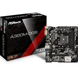 ASRock A320M-DGS AMD A320 So.AM4 Dual Channel DDR mATX Retail